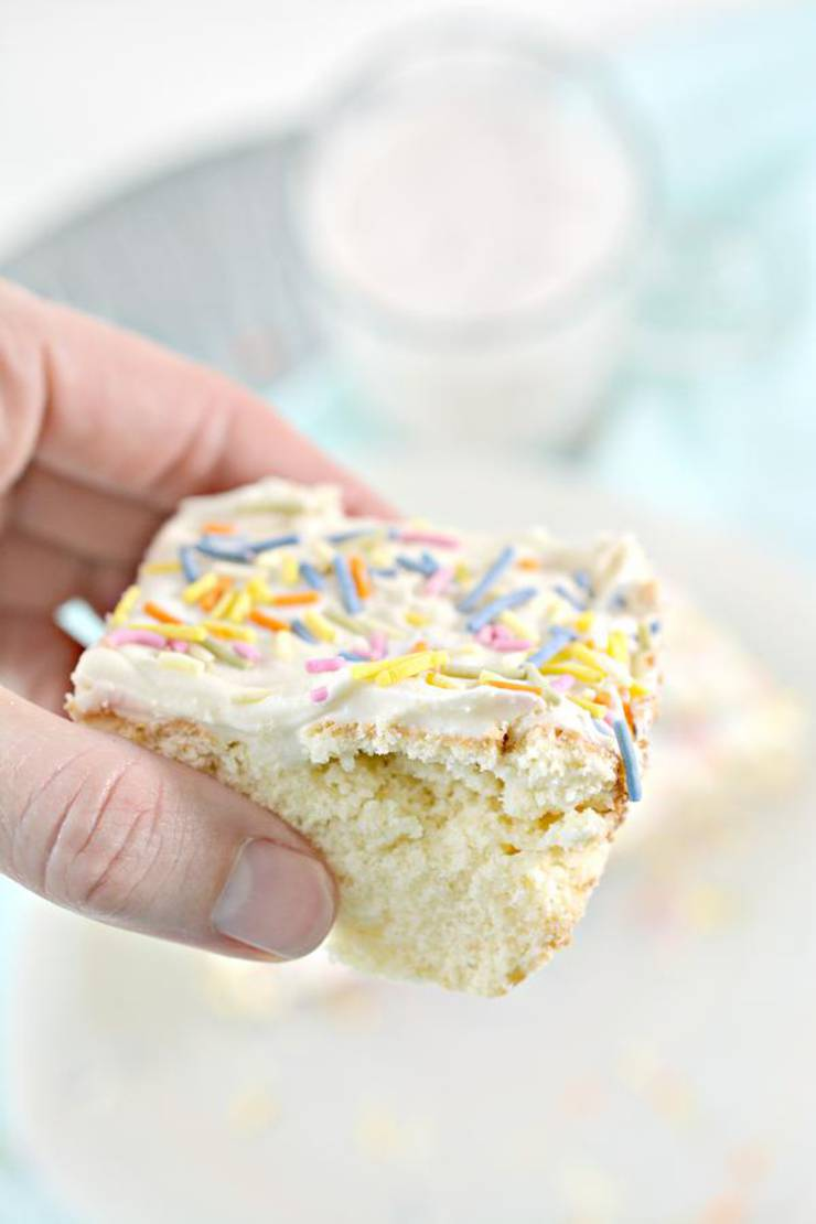 Keto Funfetti Bars – Super Yummy Low Carb Funfetti Bar Recipe – Best Keto Food Recipe For Ketogenic Diet