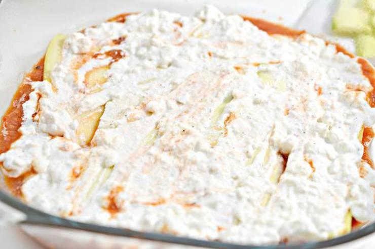 Keto Lasagna Casserole