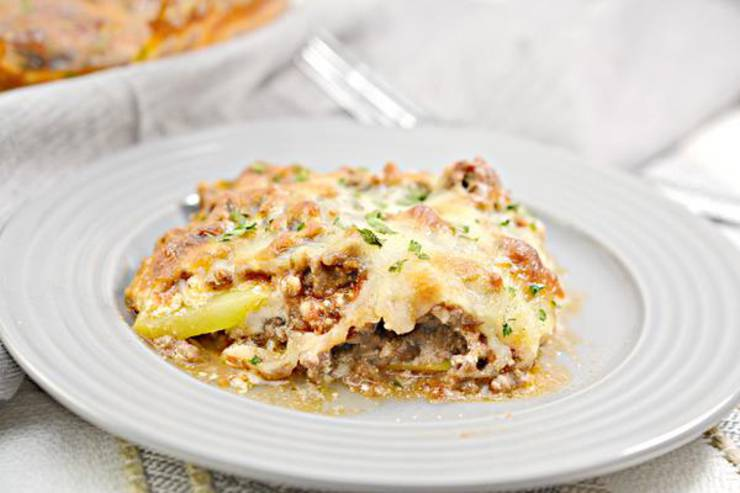 Keto Lasagna Casserole - BEST Low Carb Lasagna Recipe {Easy Meal} No Noodle Lasagna