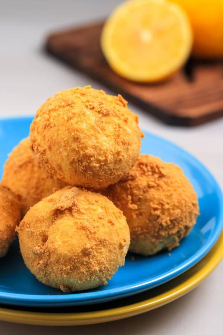 Keto Lemon Fat Bombs – BEST Lemon Cream Pie Fat Bombs – Easy NO Bake Low Carb Recipe