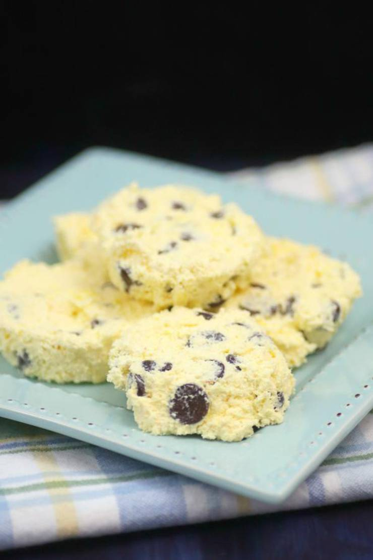 3 Ingredient Weight Watchers Vanilla Chocolate Chip Pudding Ice Cream Cookies – The BEST Weight Watchers Flourless Cookies {Easy – No Bake}