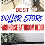 Farmhouse Bathroom Decor – DIY Dollar Store Farmhouse Decoration Ideas & Hacks – Bathroom Home Decor On A Budget