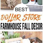 Farmhouse Fall Decor – DIY Dollar Store Farmhouse Decoration Ideas & Hacks – Fall Home Decor On A Budget