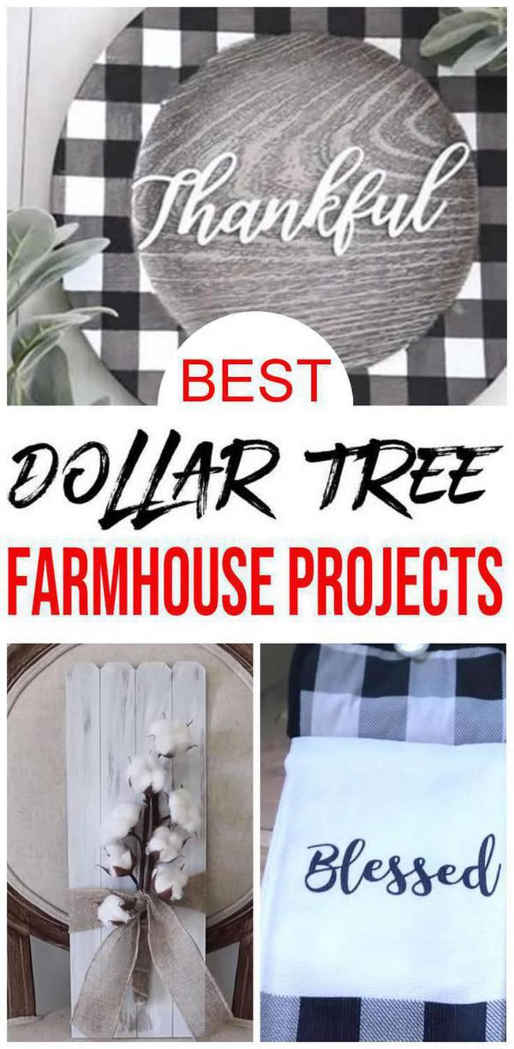 Dollar Tree Farmhouse Decor – DIY Dollar Store Farmhouse Decoration Ideas & Hacks – Home Decor On A Budget
