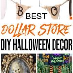 DIY Dollar Store Halloween Decorations – Ideas & Hacks - Cheap & Easy Outdoor – Indoor – DIY Halloween Crafts – Spooky & Scary Home Decor – Halloween Party