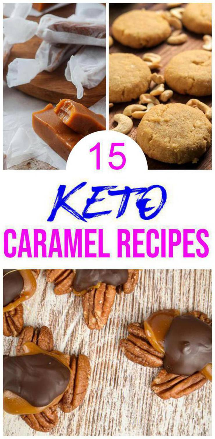 15 Keto Caramel Recipes – BEST Low Carb Caramel Ideas – Easy Ketogenic Diet Ideas – Desserts – Snacks – Breakfast