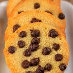 4 Ingredient Keto Cookies – BEST Low Carb Keto Chocolate Chip Shortbread Cookie Recipe – Easy NO Sugar – Gluten Free