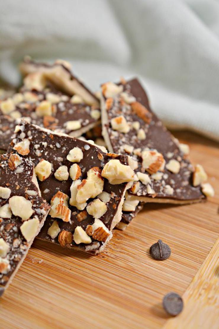 Keto Candy! BEST Low Carb Keto Almond Roca Idea – Quick & Easy Ketogenic Diet Recipe – Completely Keto Friendly – Gluten Free – Sugar Free