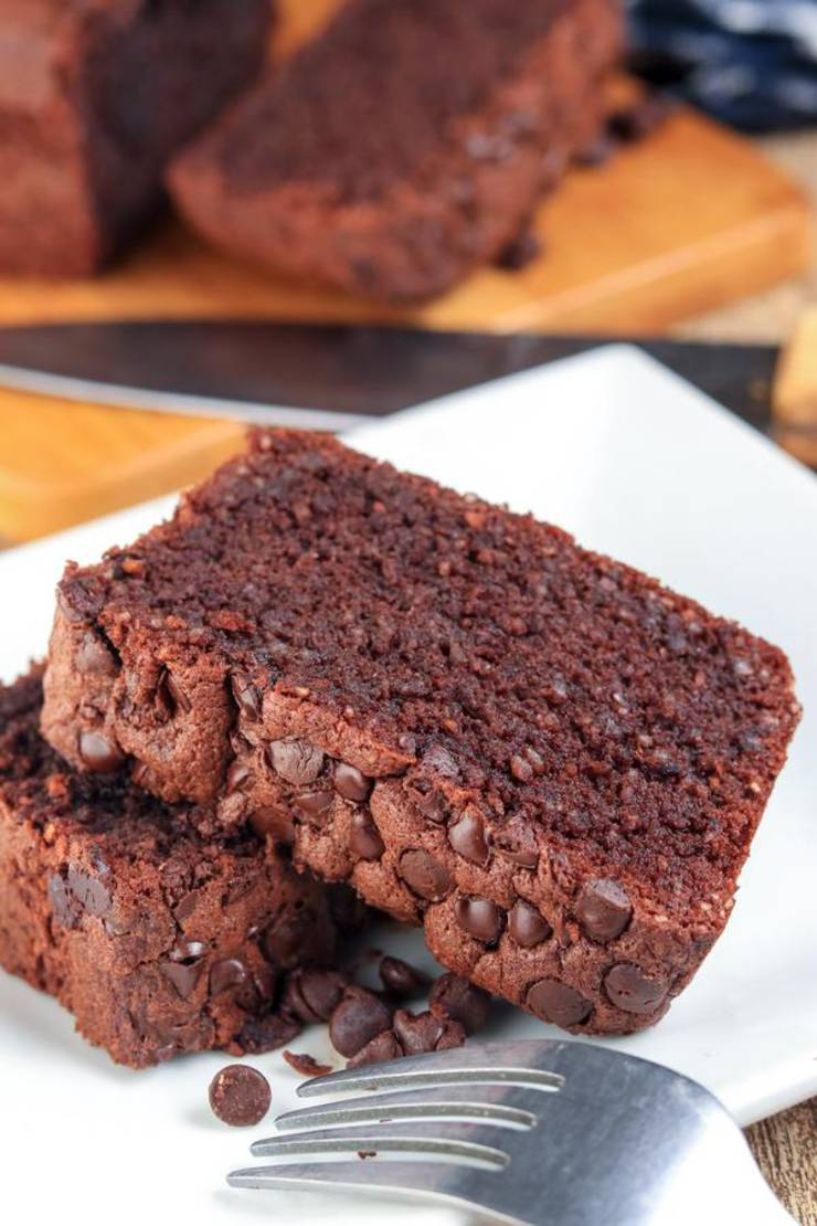 BEST Keto Bread! Low Carb Chocolate Brownie Loaf Bread Idea – Quick & Easy Ketogenic Diet Recipe – Completely Keto Friendly – Gluten Free – Sugar Free
