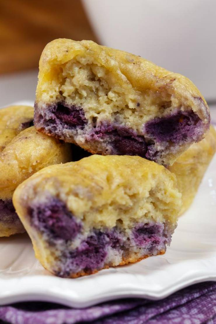 BEST Keto Muffins! Low Carb Blueberry Chaffle Muffins Idea – Chuffin – Homemade – Quick & Easy Ketogenic Diet Recipe – Completely Keto Friendly