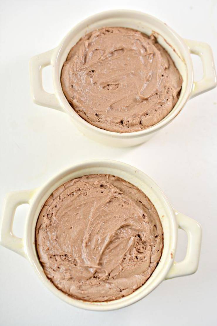 Keto Chocolate Melting Cake