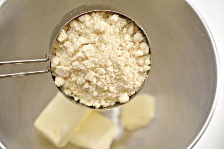 Keto Cinnamon Streusel Cookies