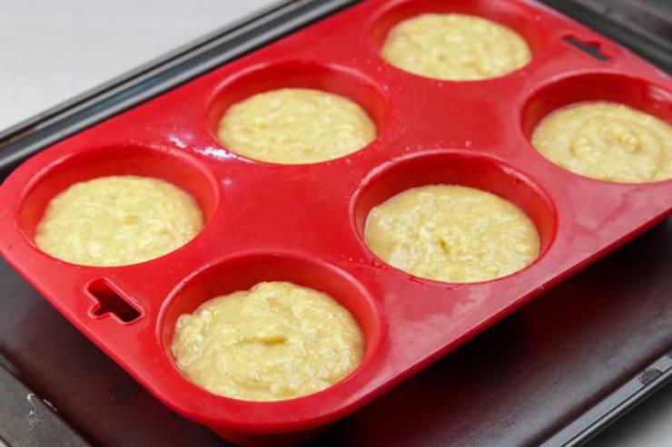 Keto Chaffle Muffins Cinnamon Sugar