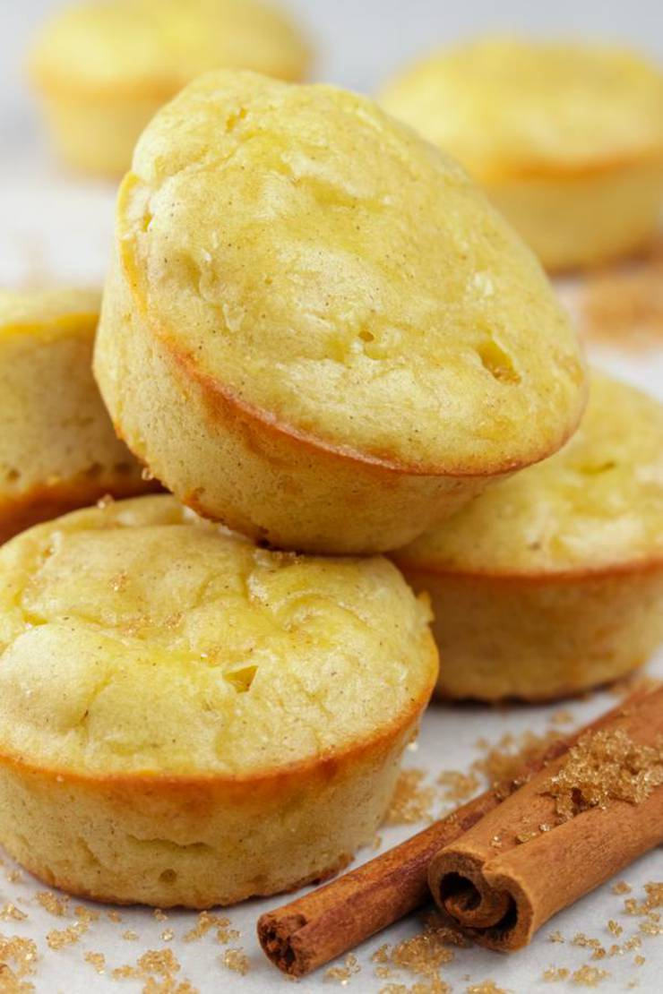 BEST Keto Muffins! Low Carb Cinnamon Sugar Chaffle Muffins Idea – Chuffin - Homemade – Quick & Easy Ketogenic Diet Recipe – Completely Keto Friendly