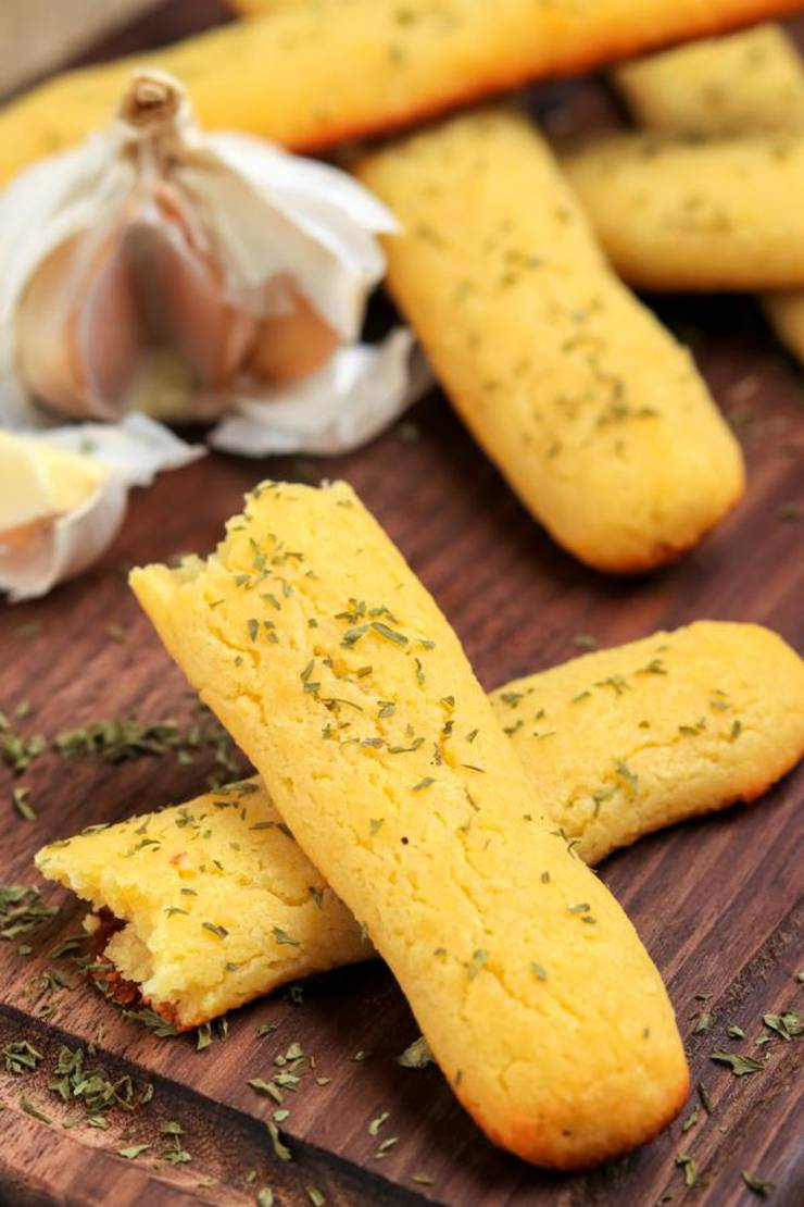 4 Ingredient Keto Garlic Breadsticks! BEST Low Carb Keto Cheesy Garlic Breadsticks Idea – Quick & Easy Ketogenic Diet Recipe – Completely Keto Friendly {Easy – Homemade}