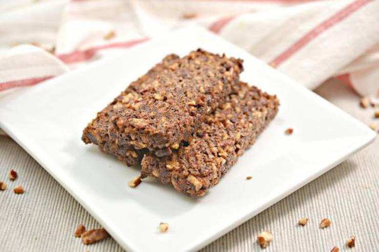 BEST Keto Granola Bars! Low Carb Keto Granola Bar Idea – Quick & Easy Ketogenic Diet Recipe – Snacks – Desserts – Breakfast