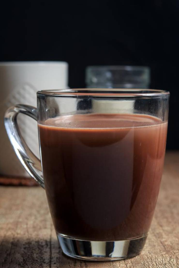 BEST Keto Hot Chocolate – Low Carb Keto Hot Chocolate Recipe – 90 Second Microwave Recipe For Easy Ketogenic Diet Hot Chocolate