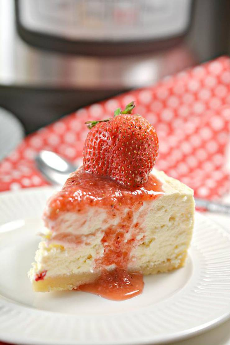 BEST Keto Cheesecake! Low Carb Keto Instant Pot Cheesecake Idea – Quick & Easy Ketogenic Diet Recipe – Completely Keto Friendly Baking – Gluten Free – Sugar Free