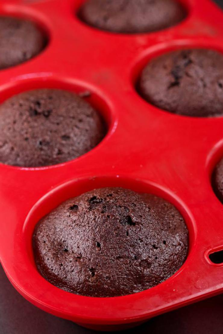 Keto Mini Brownie Bites Muffins