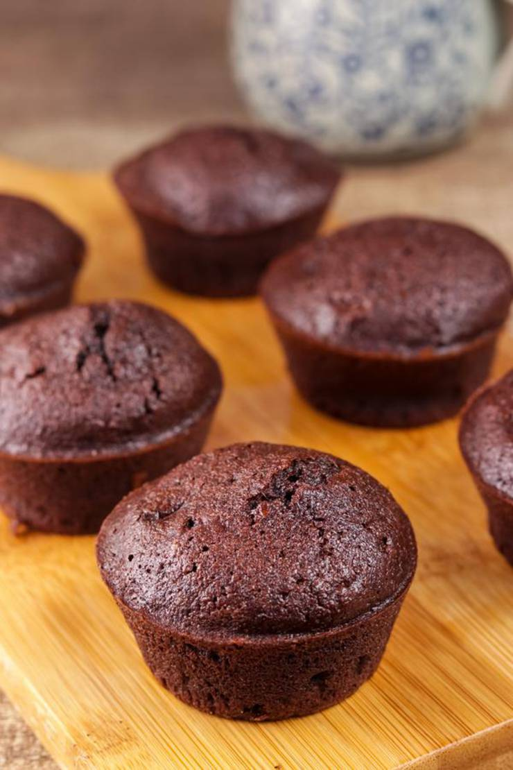 Best Keto Muffins Low Carb Mini Chocolate Brownie Muffin