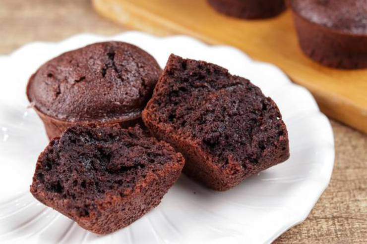 BEST Keto Muffins! Low Carb Mini Chocolate Brownie Muffin Idea – Quick & Easy Ketogenic Diet Recipe – Completely Keto Friendly