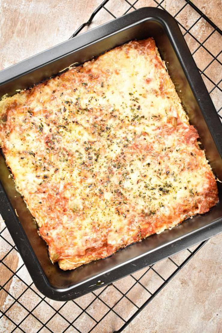 Keto Pizza – BEST Low Carb Keto Sheet Pan Pizza – Healthy Gluten Free Recipe {Easy}