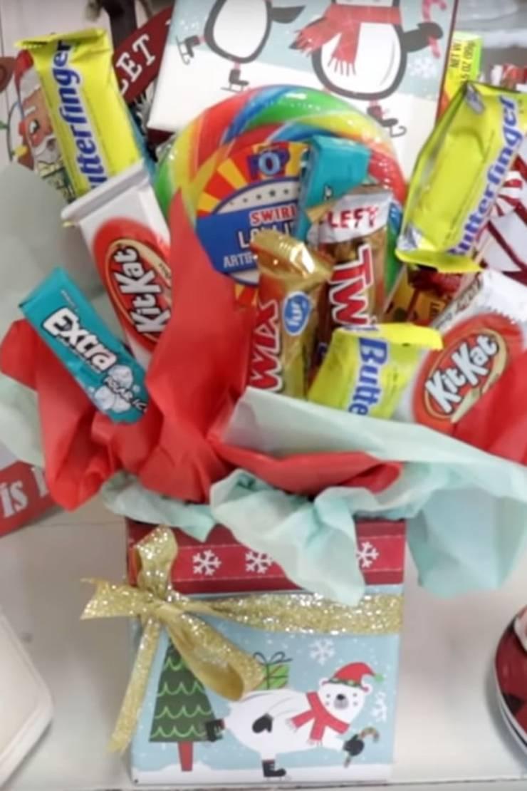 Best Dollar Tree Christmas Gift Baskets Easy Diy Dollar