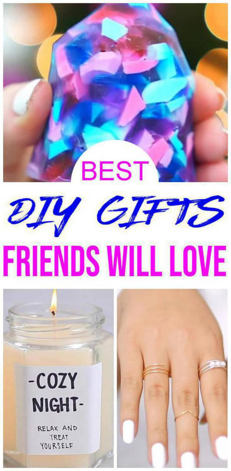 BEST DIY Gifts For Friends! EASY & CHEAP Gift Ideas To ...