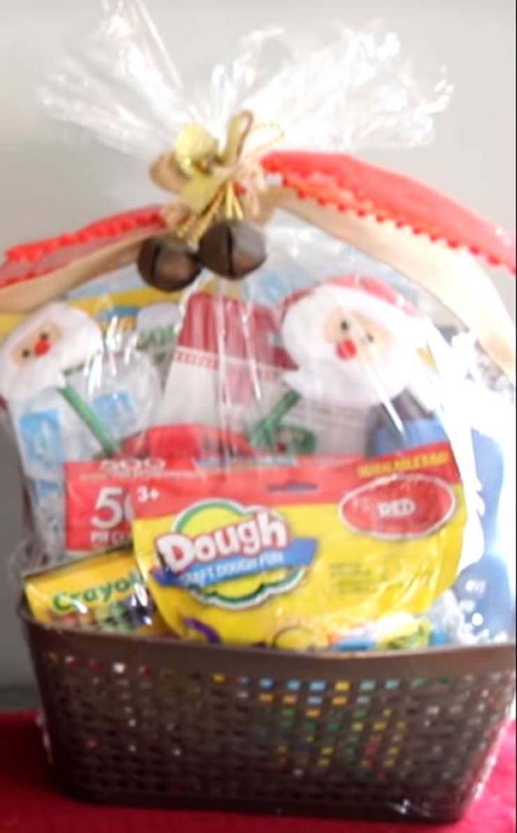 Best Dollar Tree Christmas Gift Baskets Easy Diy Dollar
