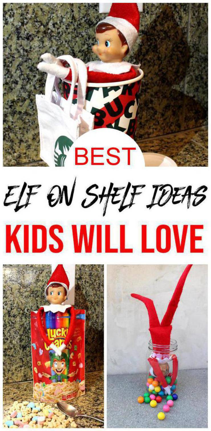BEST Elf On The Shelf Ideas! Dollar Tree Ideas For Kids That Are Easy – Funny – Awesome – Creative – Arrival Ideas Too!