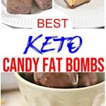 7 Keto Candy Fat Bombs Recipes – BEST Keto Low Carb Candy Fat Bomb Ideas – Easy Ketogenic Diet Ideas