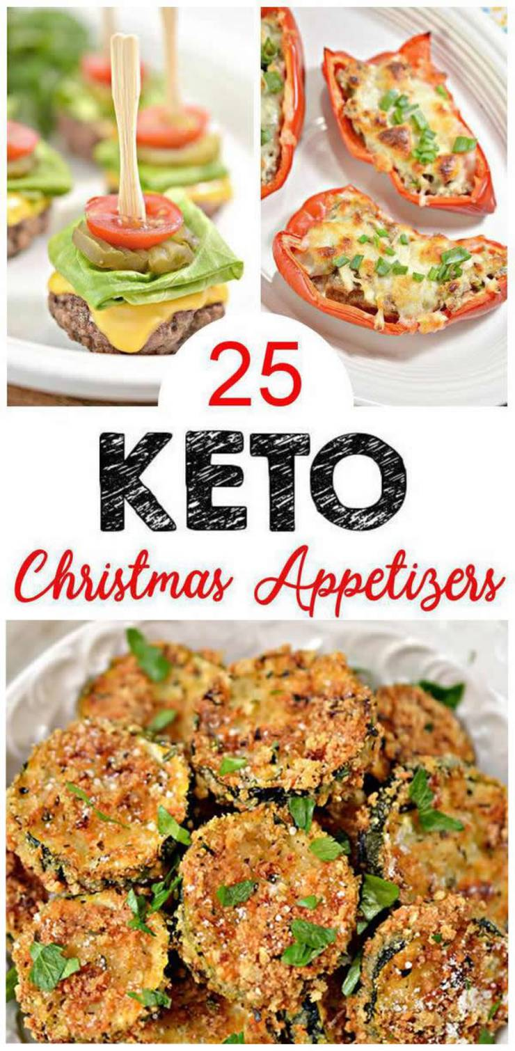 25 Keto Christmas Appetizers – Easy Low Carb Ideas – BEST Keto Appetizers For Parties -Potluck & Crowd – Quick Ketogenic Diet Recipes