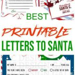 BEST Santa Letters - Printable Letters To Santa For Kids - Dear Santa Letters Children Will Love - Letters - Envelopes - Kits