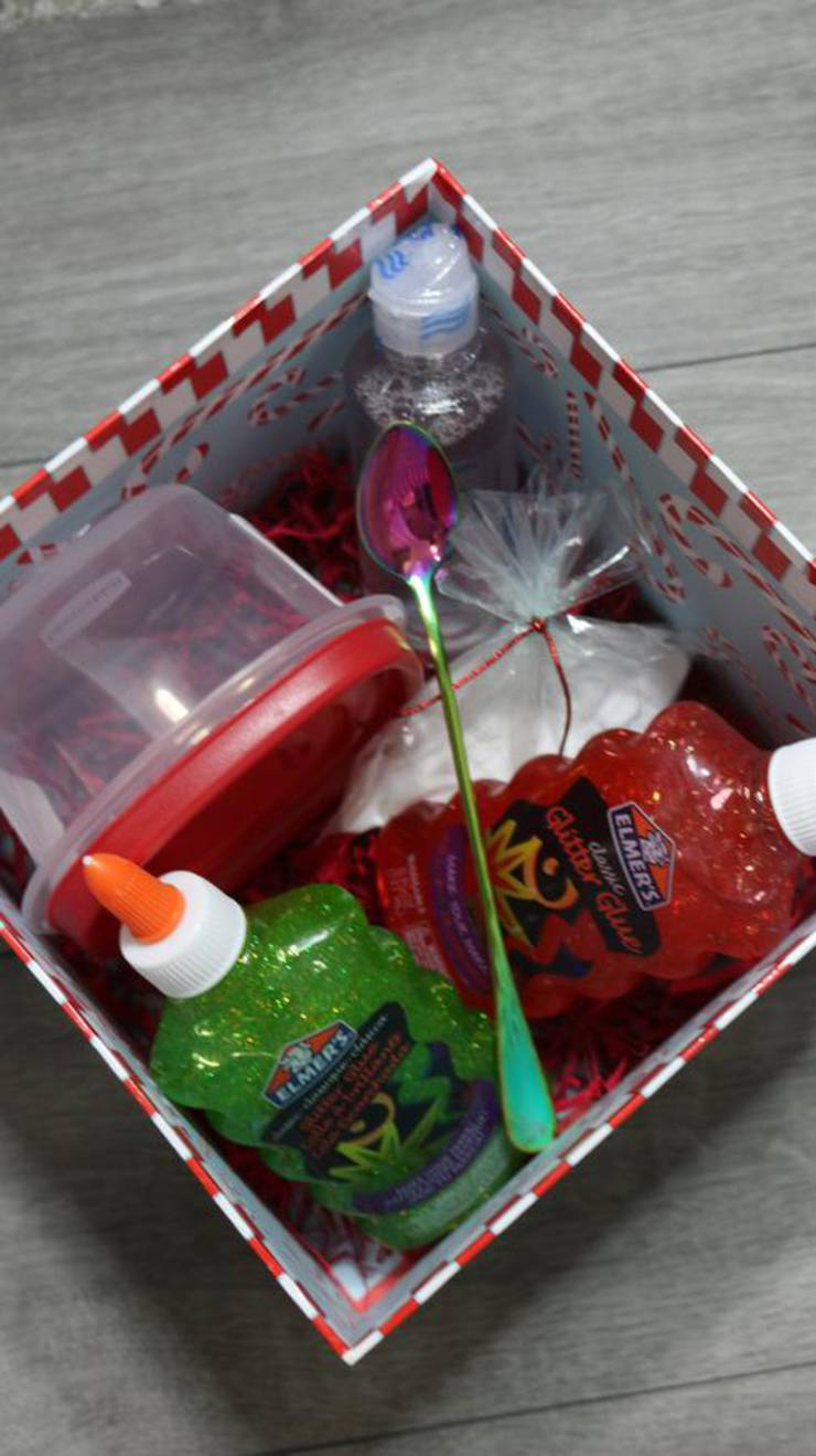 Chrismtas Diy Slime Box