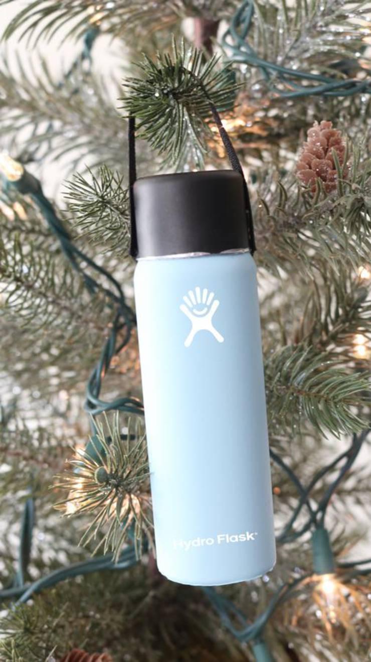 DIY Christmas Tree Ornaments – Easy Handmade Christmas Tree Decorations – Cheap Hydro Flask Christmas Idea – VSCO Girl - How To Make