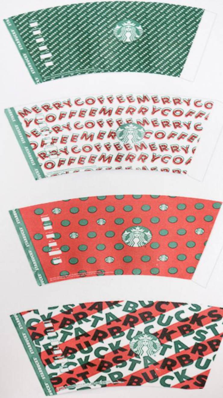 Christmas Starbucks Ornaments