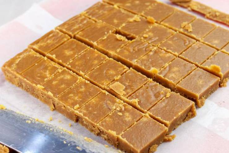 Keto Butterscotch Candy Squares
