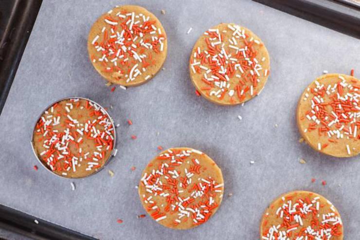 Keto Peppermint Cookies
