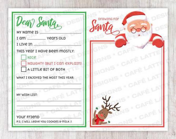 Best Santa Letters Printable Letters To Santa For Kids