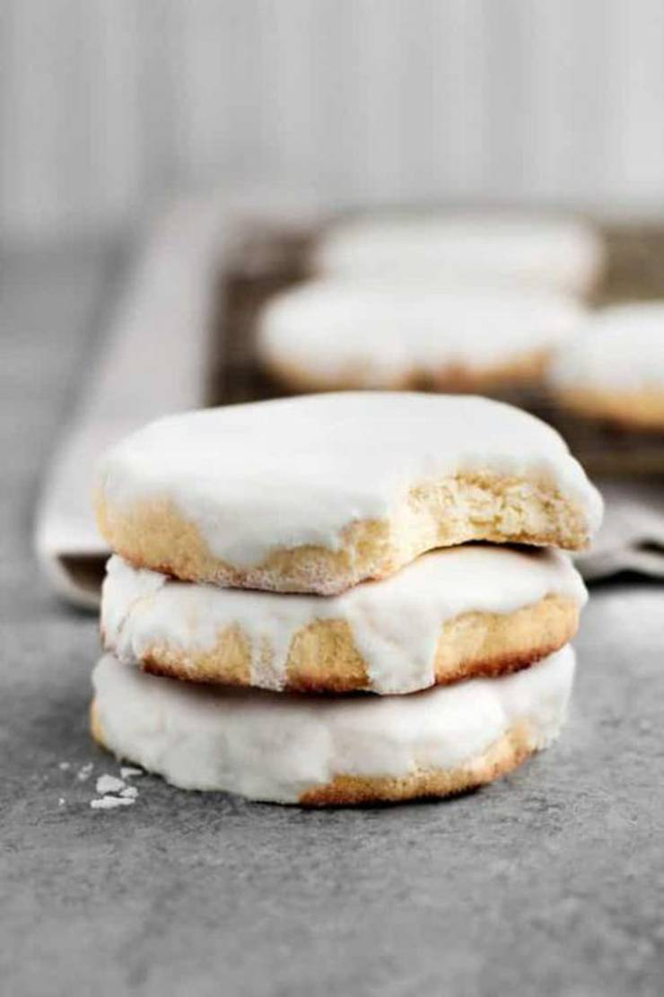 Low-Carb Glazed Sugar Cookies