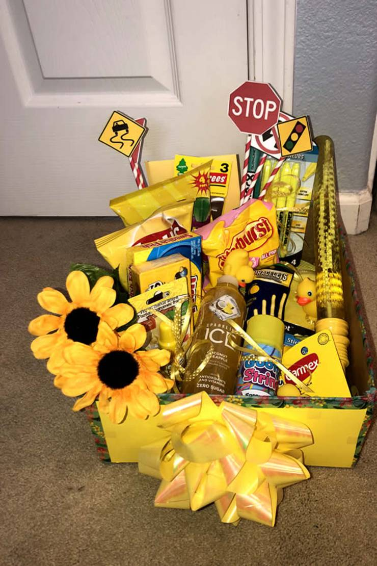 DIY Gift Box - EASY Gift Box Idea - Present For Best Friend - For Her - For Him - Birthday - Creative - How To Make A Sunshine Gift Box Tutorial