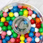 DIY Hidden Money Gift Jar Idea - Edible Candy Gumball Presents With Hidden Surprise