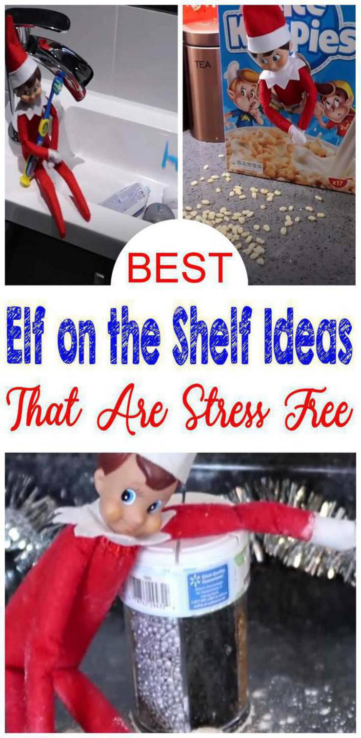BEST Elf On The Shelf Ideas! Elf Ideas For Kids That Are Easy – Funny – Awesome – Creative