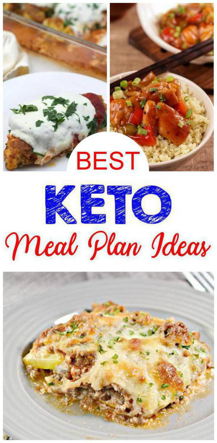 10 Keto Meal Plan Ideas - EASY Low Carb Meal Plan Recipes - Ketogenic Diet Menu Ideas For Beginners - One Week - 7 Day - Simple Budget Friendly - Lunch - Dinner
