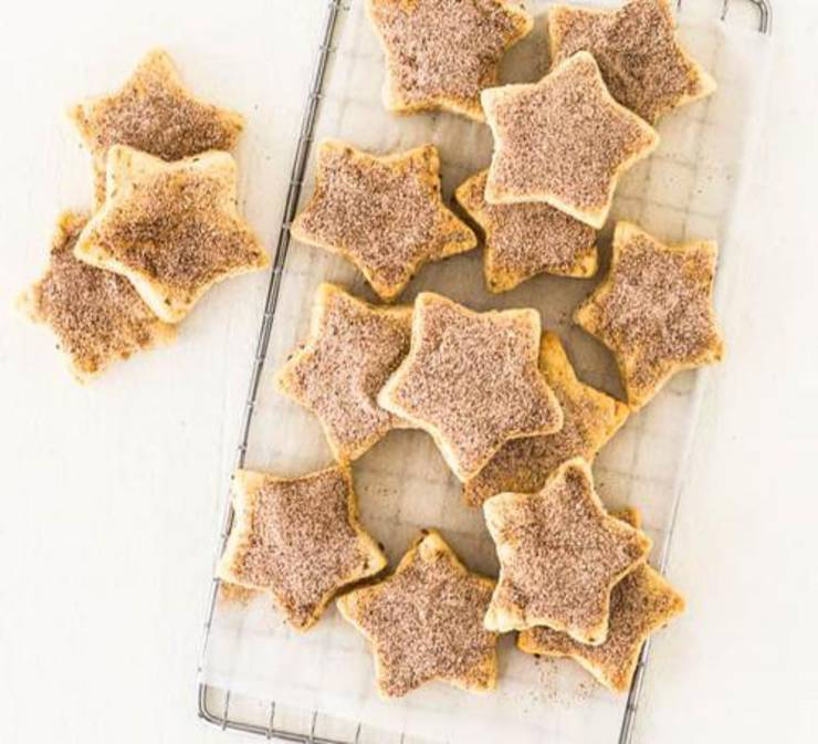 Biscochitos Anise Shortbread Cookies