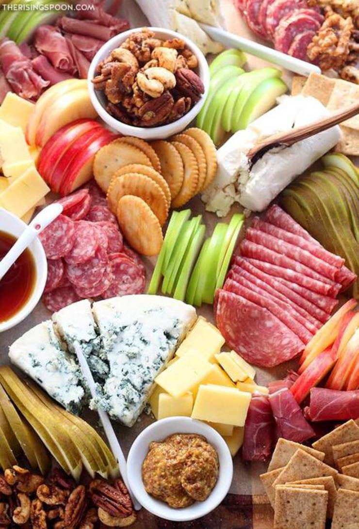 Charcuterie Board Meat And Cheese Platter
