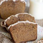 BEST Gingerbread Loaf - Easy Gingerbread Loaf Bread Recipe - Moist Delicious Gingerbread Cake - Christmas Recipe - Desserts - Breakfast