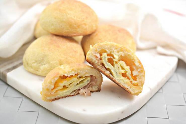 BEST Keto Bacon Egg Cheese Bombs – EASY Low Carb Keto Breakfast Sandwich Recipe – Tasty Keto Appetizers – Dinner – Lunch - Breakfast