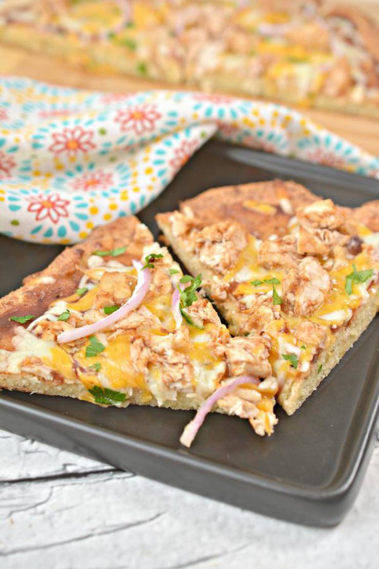 Keto Pizza! Low Carb BBQ Chicken Pizza – Ketogenic Diet Recipe – Lunch – Dinner – Completely Keto Friendly & Beginner