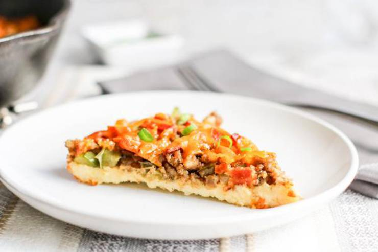 Keto Breakfast Casserole! BEST Low Carb Keto Breakfast Pizza - Bacon Cheese Egg Idea – Quick & Easy Ketogenic Diet Recipe – Beginner Keto Friendly